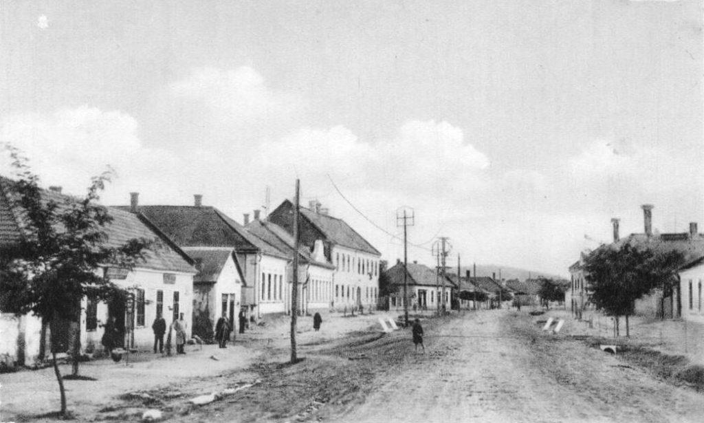 Régi főutca Bodrogkeresztúr