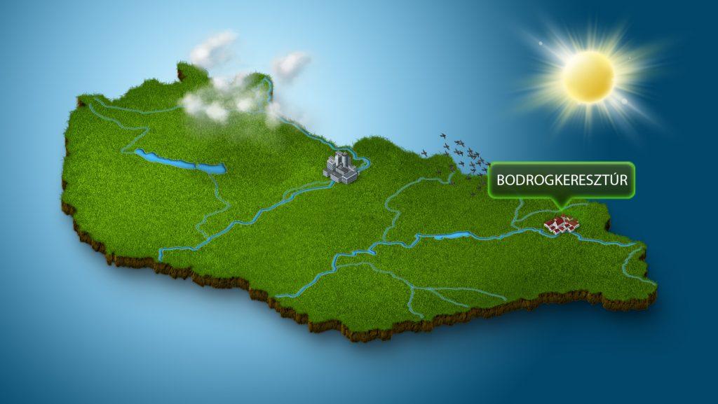 Térkép Bodrogkeresztúr